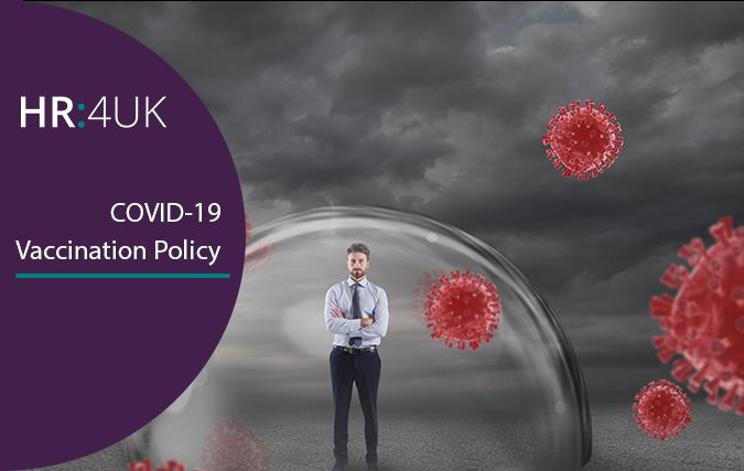 HR:4UK's COVID-19 Vaccination Policy Template is now available in your employee handbook.