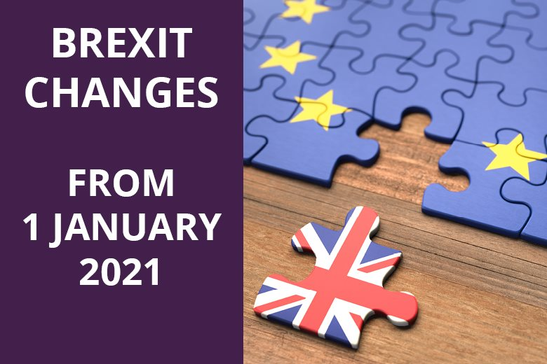 Brexit Changes From 1 January 2021