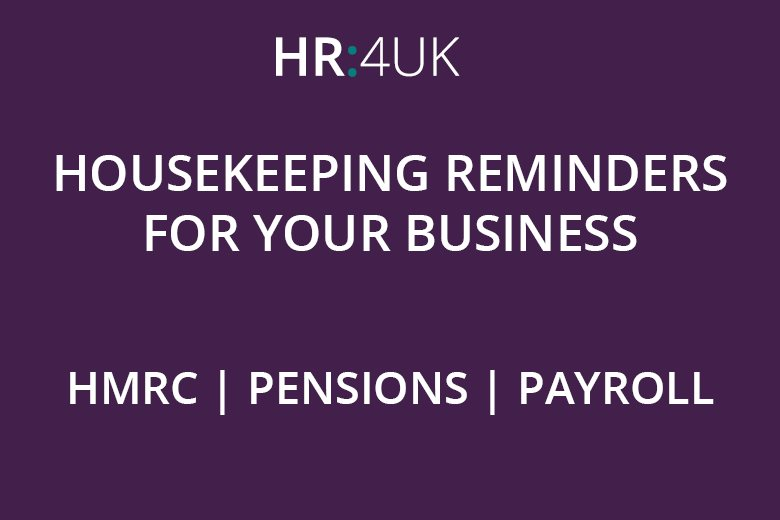 Check Your Contact Details With The Pension Regulator, HMRC & Payroll Provider